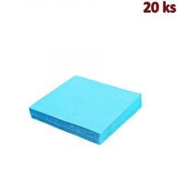 Papírové ubrousky světle modré 33 x 33 cm 3-vrst.[20 ks]