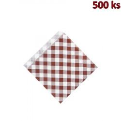 Papírové sáčky KARO 14 x 14 cm [500 ks]