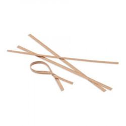 Vázací drátek v eko-papíru 12 cm [100 ks]
