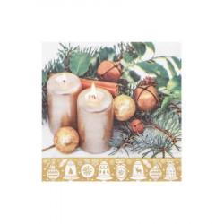 Vánoční ubrousky 3-vrstvé 33x33 - motiv 84283