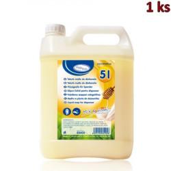 """Tekuté mýdlo do dávkovače """"Mléko a Med"""" 5 litrů [1 ks]"""
