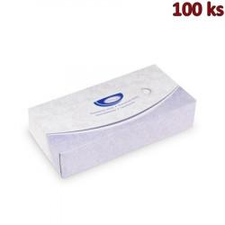 Kosmetické utěrky 2-vrstvé v boxu [100 ks]