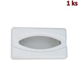 Plastový box kosmetických kapesníčků + rukavic, bílý [1 ks]