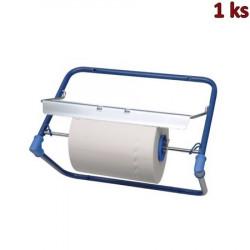 Nástěnný držák na papírové utěrky kovový modrý [1 ks]