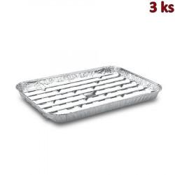 Talíř dělený na 2 porce, bílý PP Ø 22 cm [100 ks]