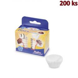 Cukrářské košíčky bílé Ø 25 x 18 mm