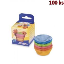 Cukrářské košíčky barevné mix Ø 35 x 20 mm