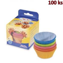 Cukrářské košíčky barevné mix Ø 50 x 30 mm