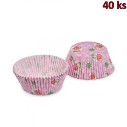 Cukrářské košíčky čtyřlístek a muchomůrka Ø 50 x 30 mm