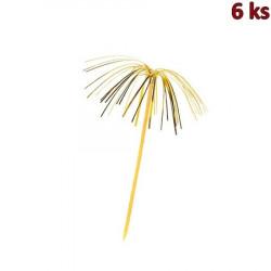 Napichovátko Palmička lesklá 225 mm [6 ks]