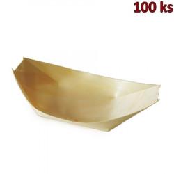 Plastová krabička s víčkem hranatá 125 ml PET [50 ks]