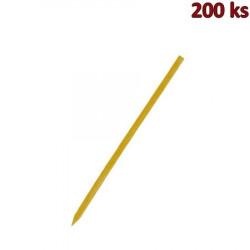 Bambusové špejle hrocené 20 cm, Ø 2,5 mm [200 ks]