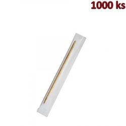 Dřevěná párátka balená v celofánu 65 mm [1000 ks]