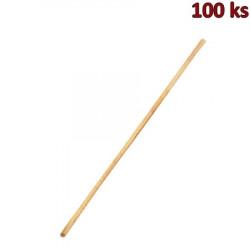 Dřevěné špejle nehrocené 30 cm, Ø 2,5 mm [100 ks]