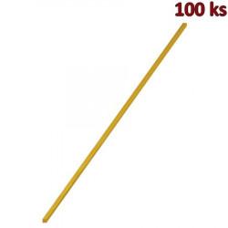 Bambusové špejle na cukrovou vatu 4 x 4 mm, 40 cm [100 ks]
