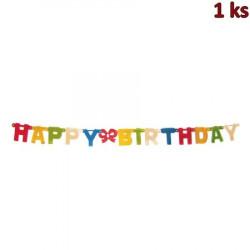 Girlanda HAPPY BIRTHDAY 1,5 m (Ø 11 cm) [1 ks]