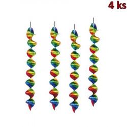 Spirály lesklé 60 cm (Ø 5 cm)