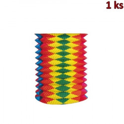 Lampión roztahovací barevný 25 cm (Ø 15 cm) [1 ks]