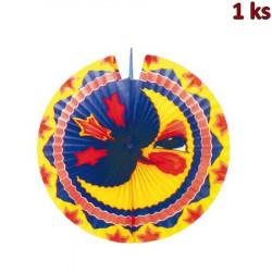 Lampión diskový MĚSÍC Ø 33 cm [1 ks]