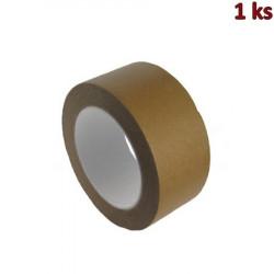 Lepící páska papírová, hnědá 50 m x 50 mm [1 ks]