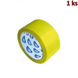 Lepící páska žlutá 66 m x 48 mm [1 ks]