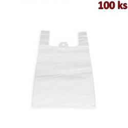 Mikrotenové tašky 4 kg bílé 25 + 12 x 45 cm [100 ks]