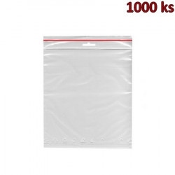 Rychlouzavírací sáčky ZIP 25 x 30 cm [1000 ks]