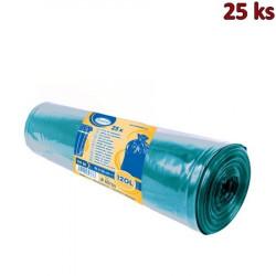 Pytle na odpadky modré 70x110cm,120 l, Typ 50 [25 ks]