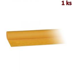Papírový ubrus rolovaný 8 x 1,20 m žlutý [1 ks]
