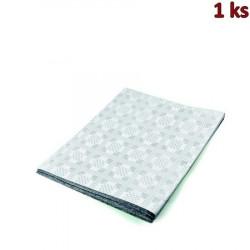 Papírový ubrus skládaný 1,80 x 1,20 m bílý [1 ks]