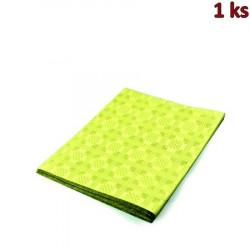 Papírový ubrus skládaný 1,80 x 1,20 m žlutý