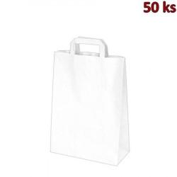 Papírová taška bílá 26 x 14 x 32 cm [50 ks]