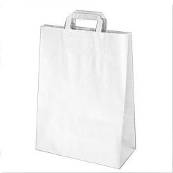 Papírové tašky 32 x 16 x 39 cm hnědé [250 ks]