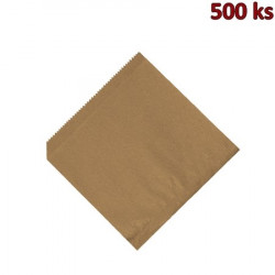 Papírové sáčky (HAMBURGER/KEBAP) hnědé 16x16cm [500 ks]