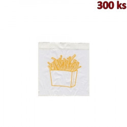 Sáčky na hranolky 10+5 x 11 cm [300 ks]