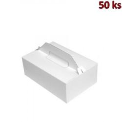 Nosič na zákusky 27 x 18 x 10 cm [50 ks]