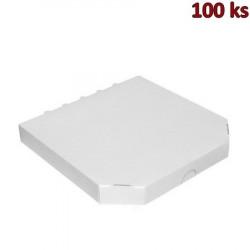 Extra pevná krabice na pizzu 32 x 32 x 3 cm [100 ks]