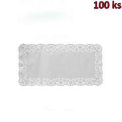 Dekorativní krajky hranaté 20 x 40 cm [100 ks]
