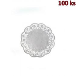 Dekorativní krajky kulaté Ø 14 cm [100 ks]