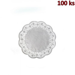 Dekorativní krajky kulaté Ø 18 cm [100 ks]