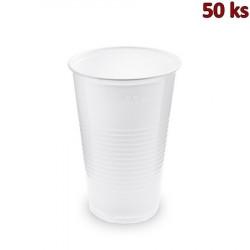 Plastový kelímek bílý 0,5 l PP (Ø 95 mm) [50 ks]