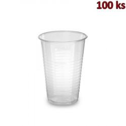 Plastový kelímek průhledný 0,3 l PP (Ø 80 mm) [100 ks]