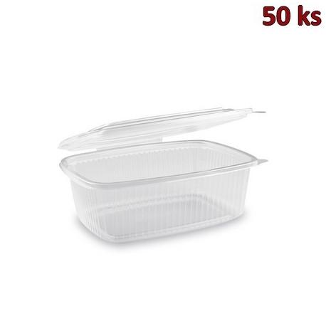 Krabička na potraviny s víčkem 1000 ml PP [50 ks]