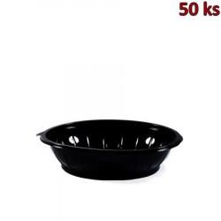 Salátová miska černá 1000 ml PET [50 ks]