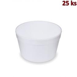 Termo-miska kulatá bílá 910 ml [25 ks]
