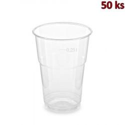 PET kelímek 0,25 l (Ø 78 mm) [50 ks]