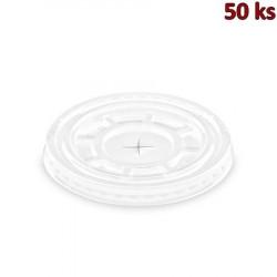 Víčko s křížovým otvorem pro kelímky PET Ø 95 mm [50 ks]