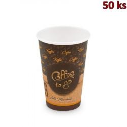 Papírový kelímek Coffee to go 330 ml, L (Ø 80 mm) [50 ks]