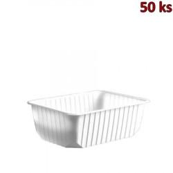 Vanička na potraviny bílá 1000 ml PP [50 ks]