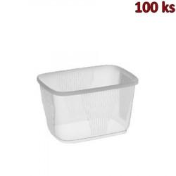 Plastová miska průhledná 300 ml PP [100 ks]
